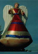 Christmas Parade Balloon - Angel - World's Largest Angel. We manufacture custom balloons in the USA.