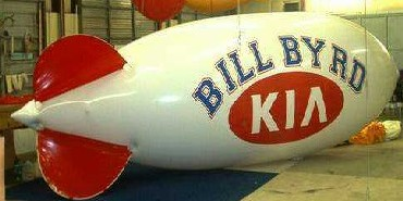 Advertising Blimp - 20ft. KIA logo