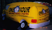 Custom Advertising Balloon - Helium Van